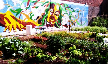 OTR Homegrown Mural on Pleasant and Greene in Over The Rhine